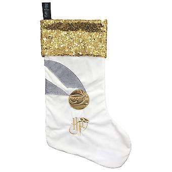 Golden Snitch Harry Potter Christmas Stocking
