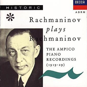 Sergei Rachmaninov - Rachmaninov Plays Rachmaninov: The Ampico Piano Recordings, 1919-1929 [CD] USA import