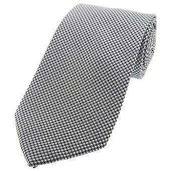 David Van Hagen ordentlich gewebt Polyester Morgen Krawatte - grau
