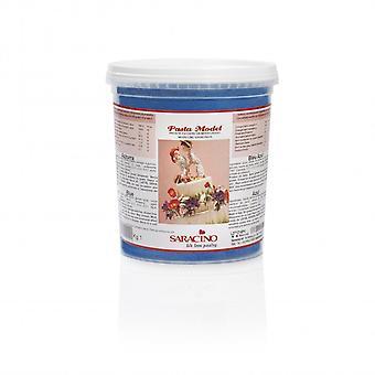 Saracino Modelling paste-sininen 1kg-IRTOTAVARANA pakkaus 6
