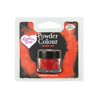 Rainbow Dust Edible Matt Dust Dust Couleur 4g Cherry Pie