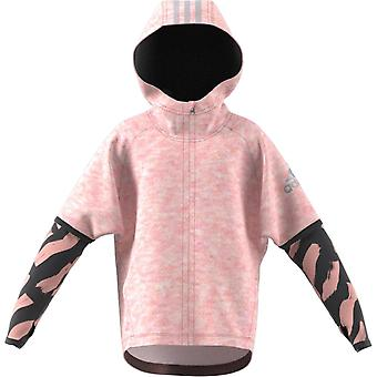 Adidas Little Girls Cotton Cover-up Hoodie