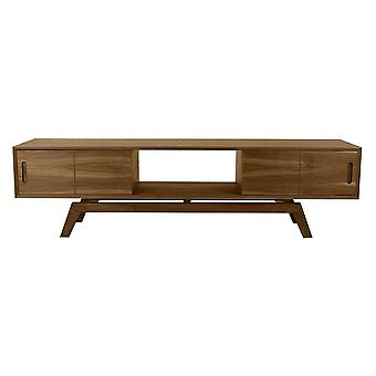 Fusion Living Danish Large Walnut Media Unit