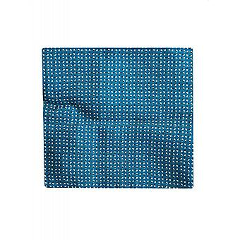 Hugo Boss Pocket Square Pastell Blau 100 % Seide 50369980