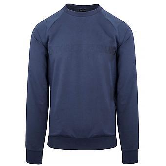 Emporio Armani Loungewear Emporio Armani Navy Eagle Crew Neck Sweatshirt