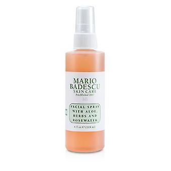 Mario Badescu kasvojen spray aloe, yrtit & Rosewater - Kaikille ihotyypeille 118ml/4oz