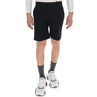 Versace A85216a229957a1145 Men's Black Cotton Shorts