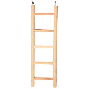 Trixie Wooden Ladder for cockatiels and parakeets 5 rungs/45 Cm.