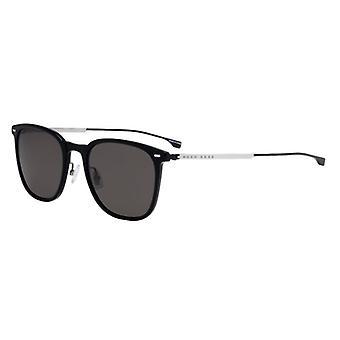 Hugo Boss 0974/S 807/IR Black/Grey-Blue Sunglasses