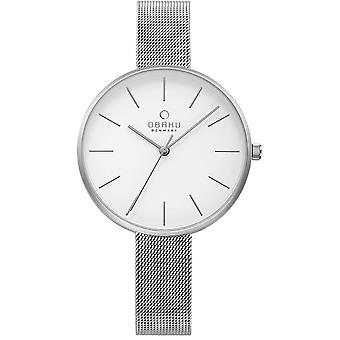 Obaku Mynte Steel Women's Wristwatch V211LXCIMC