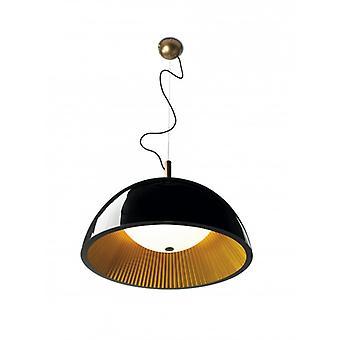 Hanger paraplu 3 X E14 Max 11w Golden Lac zwart
