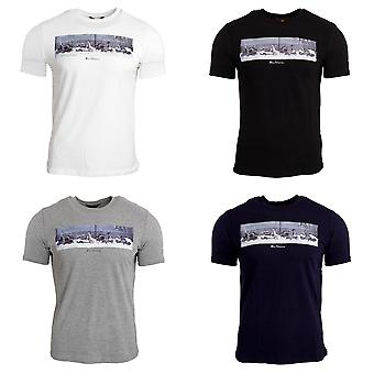 Ben Sherman Mens Retro Scooter T-Shirt