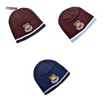 West Ham United FC Youths Classic Crest Beanie