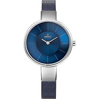 Obaku Sol Arctic Women's Wristwatch V149LXCLML