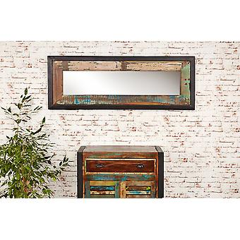 Urban Chic Mirror Medium (Hangs landscape or portrait) Brown - Baumhaus