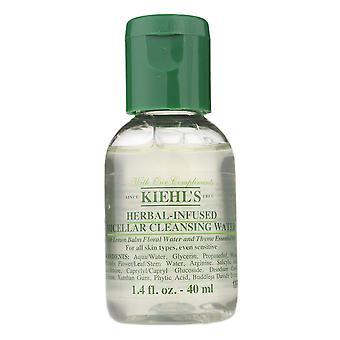 Kiehl's herbal-infused micellar cleansing water 40ml