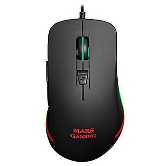 Optinen hiiri mars pelaamista mm118 usb 9800 dpi musta