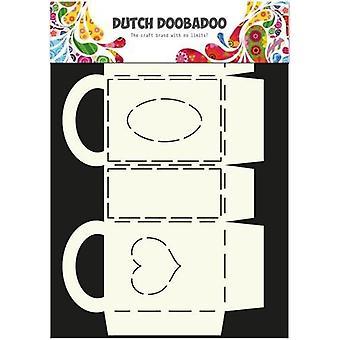 Dutch Doobadoo Dutch Box Art rectangular bag with handle A4 470.713.007