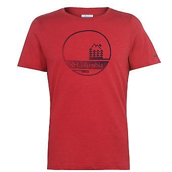 Columbia Mens Bluff T-Shirt Kurzarm Performance T-Shirt T Shirt T-Shirt T-Top