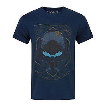 Halo 5 Locke HUD Helmet Navy Boy's T-Shirt