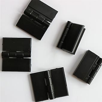 5 x 32 mm x 38 mm zwart scharnieren