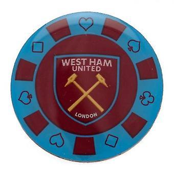 West Ham United poker Chip odznak