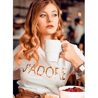 T-shirt graphique J-apos;adore