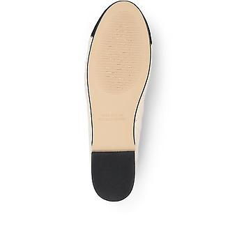 Jones Bootmaker Femme Miya Quilted Leather Ballet Pompe