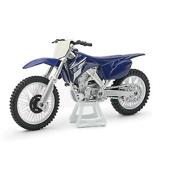 1:18 mierka Die-Cast motocykel-Blue Yamaha YZ 450F