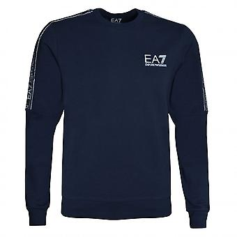 EA7 Emporio Armani Men's Navy Blue Sweatshirt