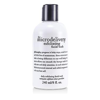 The microdelivery daily exfoliating facial wash 166120 240ml/8oz
