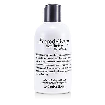 El lavado facial exfoliante diario de microentrecación 166120 240ml/8oz