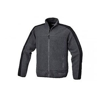 Beta 076220004 X/Large Fleece Jacket W/ Polyester Inserts Antracite Grey/Black