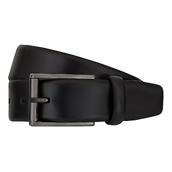 Strellson belts men's belts leather leather belt blue 7568