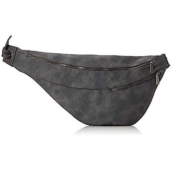 Fritzi aus Preussen Bitja - Black Woman Shoulder Bags (Anthra) 2x56x26 cm (W x H L)