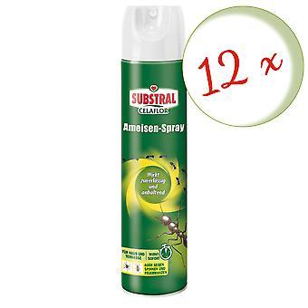 Sparset: 12 x SUBSTRAL® Celaflor® Ant Spray, 400 ml