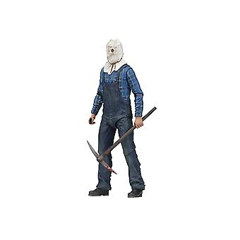 Jason Voorhees Ultimate Edition Poseable Figur från fredag den 13: e del 2