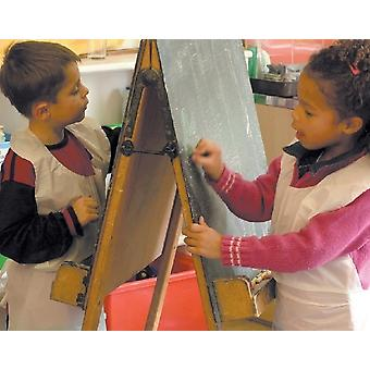 100 Children's Disposable Art, Craft & Painting Aprons