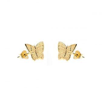 Eternity 9ct Gold Kids Butterfly Stud Earrings