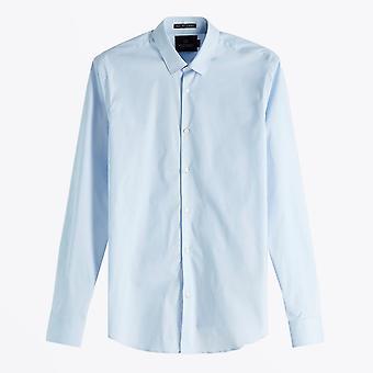 Skotsk og sodavand - Klassisk Oxford-skjorte - Lyseblå