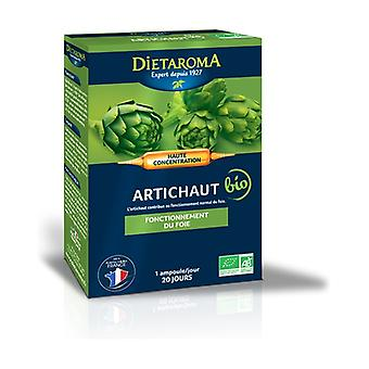 CIP Artichoke 20 ampoules of 200ml