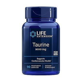 Taurine 90 vegetable capsules