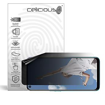 Celicious Privacy Lite (Landscape) 2-Way Anti-Glare Anti-Spy Filter Screen Protector Film Compatible with Oppo A72