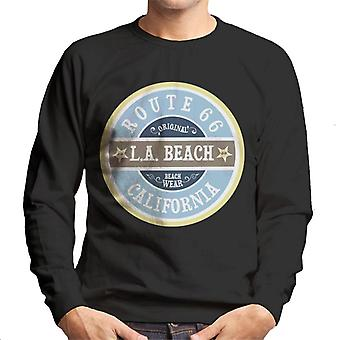 Camisola masculina da rota 66 desgaste da praia original