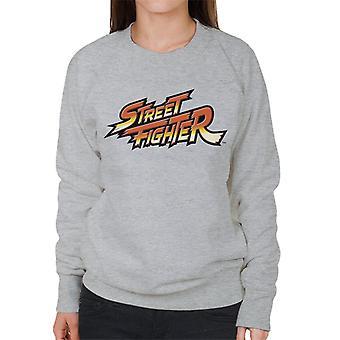 Street Fighter Logo Women's Sweatshirt