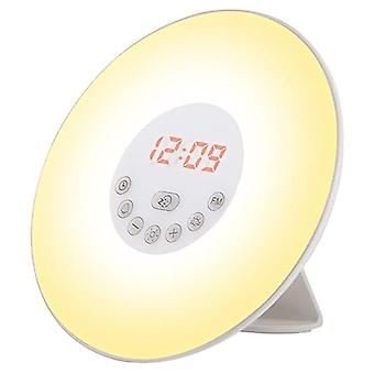 Wake-up lys med radio