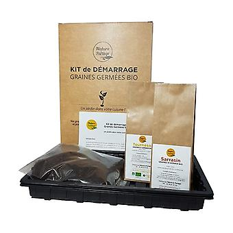 Starter kit for organic seeds to germinate 1 unit
