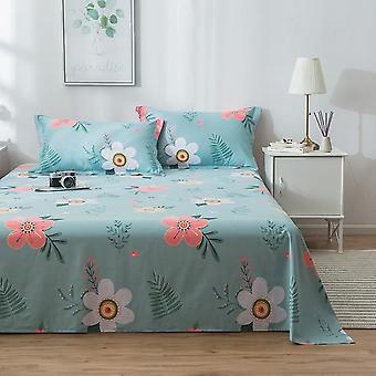 Modern Home Decor Designer Flat Bed Sheet And Pillowcase