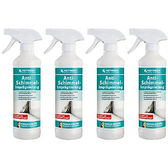 Sparset: 4 x HOTREGA® anti-mould impregnation, 500 ml spray bottle