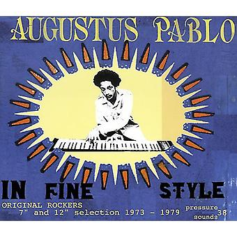 Augustus Pablo - In Fine Style [Vinyl] USA import